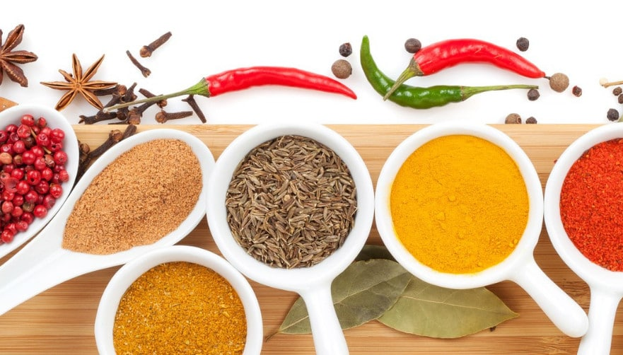 spices for quality control using NIR Spectroscopy